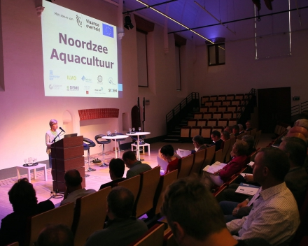 UGent Rector Prof. Anne De Paepe, welcoming everyone to the event (© Hilde Christiaens, UGent)